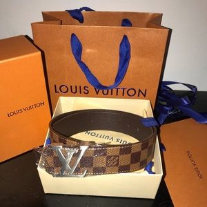 Louis Vuitton Belt for Men (Authentic) Size 80/32
